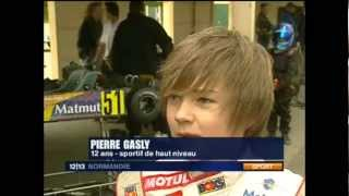 Pierre Gasly France3 midipile 30-04-2008