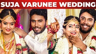 EXCLUSIVE: Actress Suja Varunee and ShivaKumar Wedding