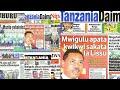 MAGAZETI Ijumaa 29/9/2017:Mazito yabainika