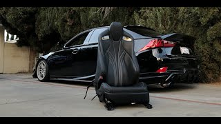 An RC-F Seat in the LEXUS IS?!