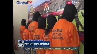 8 Pelaku Penjual Wanita untuk Pijat Plus-plus Dibekuk Polisi - BIM 16/08