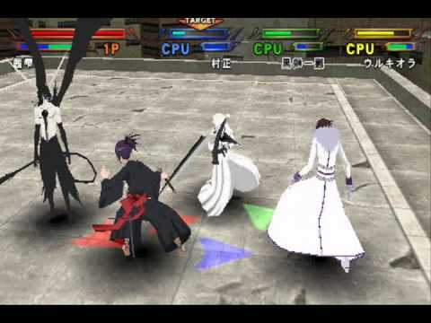 Bleach Heat the Soul 7 Senna vs Muramasa vs Hollow Ichigo vs Ulquiorra (Segunda