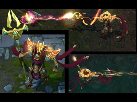 AZIR NEW CHAMPION Ability Preview Gameplay League of Legends