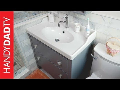 Ikea Bathroom Vanity Install How To Save Money And Do It Yourself