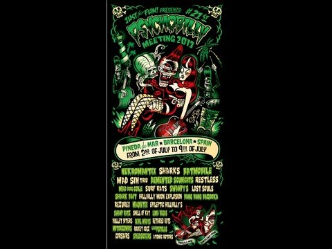 Psychobilly meeting Pineda de mar 2013 promo