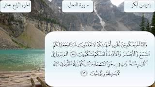 سورة النحل كاملة بصوت الشيخ إدريس أبكر