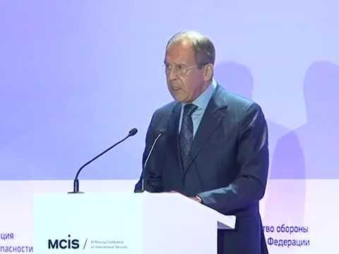 С.Лавров на III Московской конференции по международной безопасности