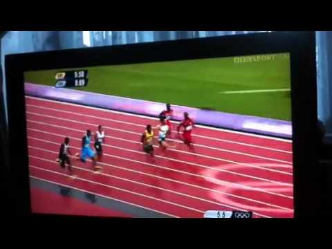 100m  Semi Final Yohan Blake Olympics London 2012