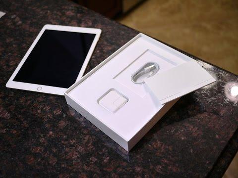 Apple iPad Air 2 unboxing