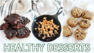 HEALTHY DESSERT RECIPES: low carb, nut free, vegan