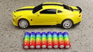 Yellow Bumblebee Transformer Toys - Car Toys Kid