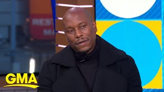 Tyrese Gibson talks his childhood dream to be a garbage man l GMA