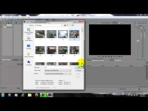 Vegas Pro 9-10 black preview screen problem FIX!
