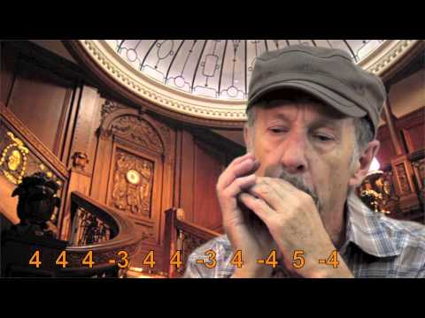 Titanic Theme -- HarmonicaMundharmonika Harp Tabs
