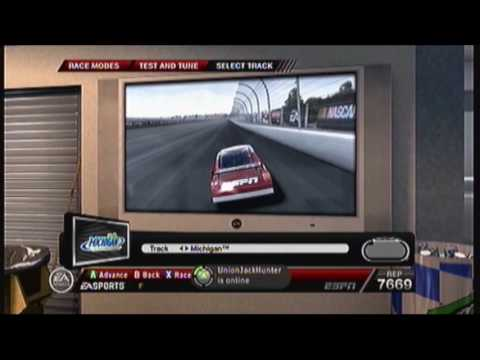 Rusty Wallace's guide to michigan speedway. Video