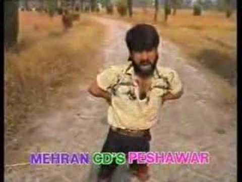 Afghanistan - Pashton Midget super hero in Kandahar