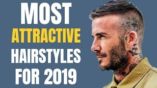The TOP 6 New Hairstyles For Men For 2019 | Most Attractive Haircuts For Men