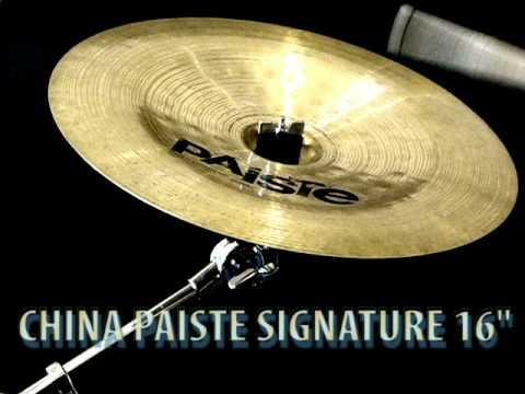 """Paiste Signature Thin China 16"""" cymbal"""