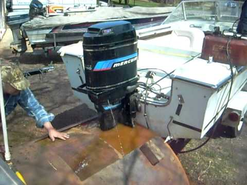 Mercury 115 hp outboard running in test tank youtube for Buy new mercury outboard motor