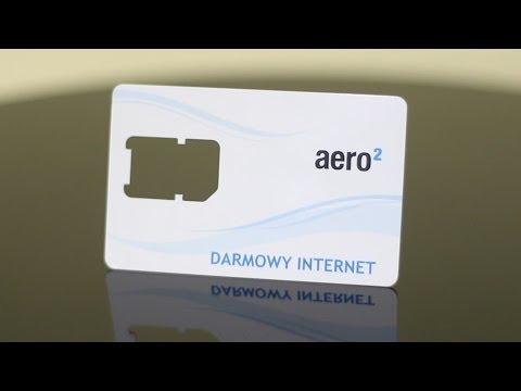 Darmowy Internet Aero2 - prezentacja. test. szybkość. zasięg i dostępność.