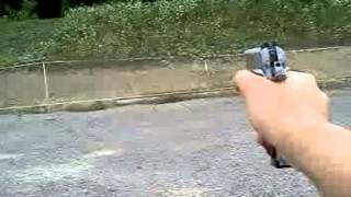Taurus PT 1911 shooting