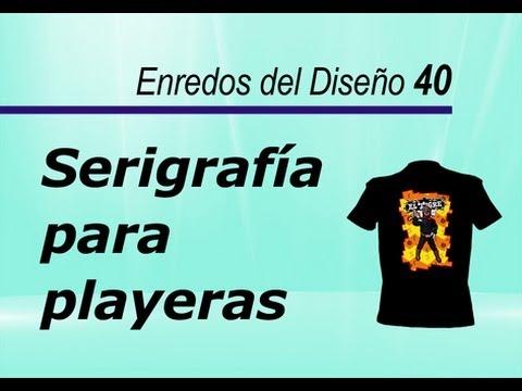 Serigrafía para playeras - Amg