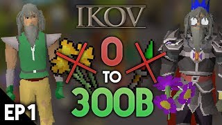 0 To 300B WITHOUT STAKING!! Ep #1 Ikov RSPS