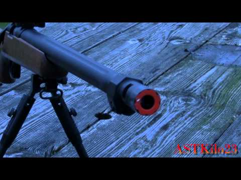 REVIEW: TSD SD702 Airsoft Bolt Action Sniper Rifle  -ASTKilo23-