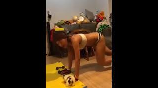 Download Fitness Sexy Senam Paha Champagne XXX 2015 terbaru 3Gp Mp4