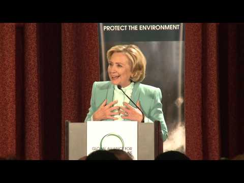 Hillary Rodham Clinton: Global Alliance for Clean Cookstoves Third Anniversary Celebration