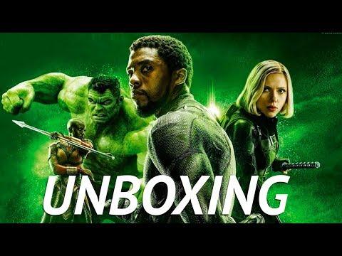 ¡Brutal! Unboxing de Avengers: INFINITY WAR