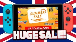 HUGE Switch Sale for Cheap Switch Games! (Nintendo eShop Summer Sale UK)