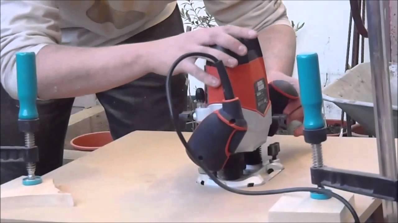 Como hacer mesa fresado casera youtube for Mesa fresadora casera