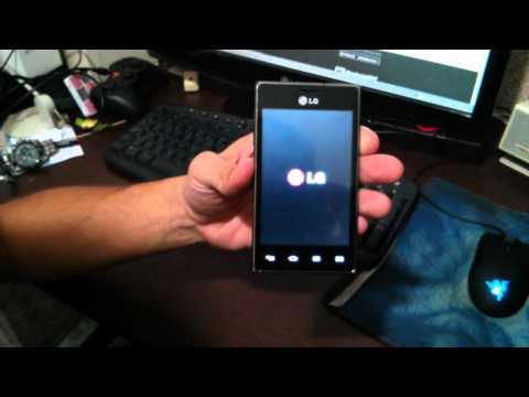LG Optimus L5 E615(f) não da hard reset