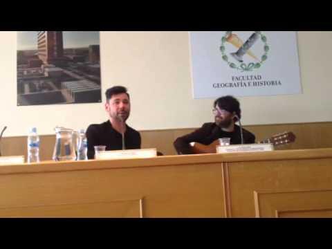 Miguel Poveda en la Universidad Complutense de Madrid
