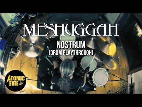 MESHUGGAH - Nostrum (DRUM PLAYTHROUGH w/ TOMAS HAAKE) thumbnail