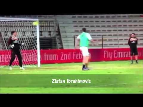 Best football goals in training! HD