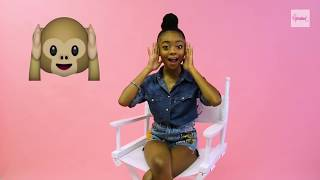 Download Lagu Bunk'd Star Skai Jackson Takes Our Official Emoji Challenge Gratis STAFABAND