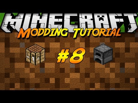 [1.7.2]Minecraft Forge Modding Tutorial #8 - Chest Fixes, and Crafting/Smelting!