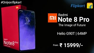 Redmi Note 8 Pro -  Official Confirmed, Helio G90T, 64MP Quad Camera, release date, price in India🔥