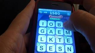 Scramble with Friends 2900 points, 1 round, 130 words (How NOT to cheat at Scramble)