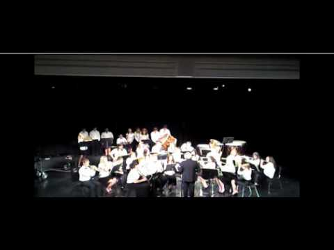 Chandler High School Band- New Castle March