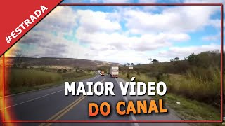 O MAIOR VIDEO DO CANAL.BR251. Diario de bordo de um caminhoneiro. Minas Gerais Brasil.
