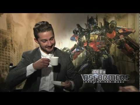 Shia LaBeouf destroys and rants about TRANSFORMERS 2 - Interview for DARK OF THE MOON
