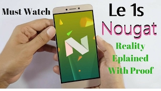 Is LeEco le 1s/Eco Nougat CM14.1 Real ? #17