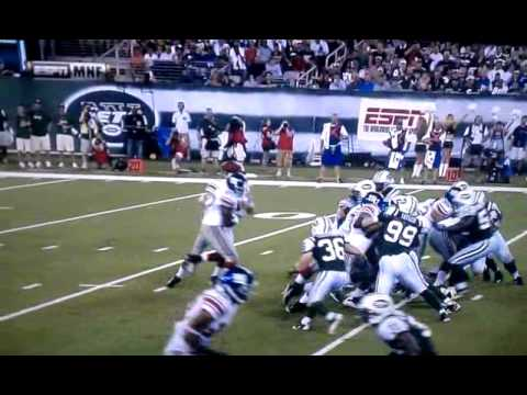 Eli Manning jacked up Video