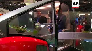 Smaller companies showcase ideas of future mobility