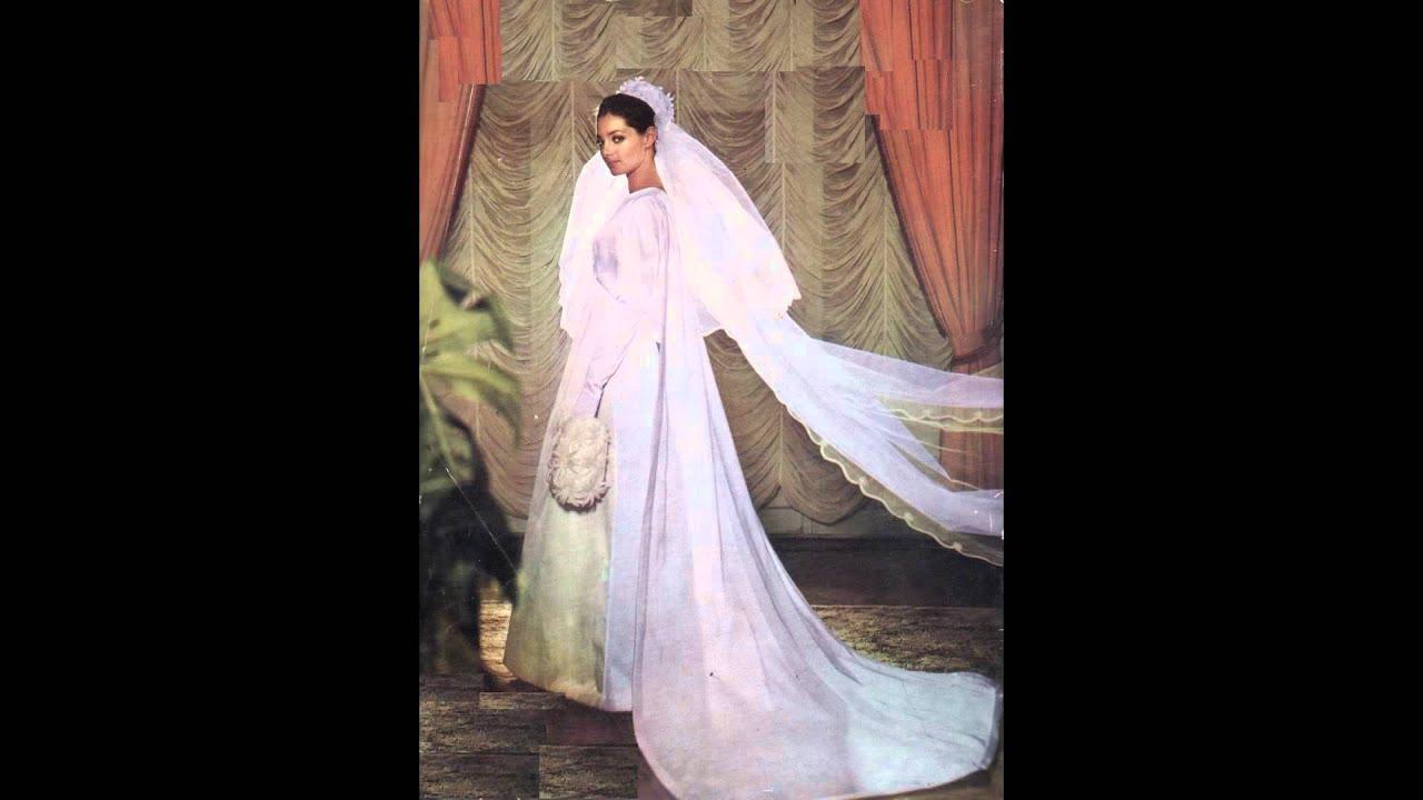 Nos somptueuses robes de mariées des années 60 - YouTube