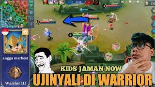 download lagu Ngajarin Kids Jaman Now Main Ranked Di Warrior  gratis