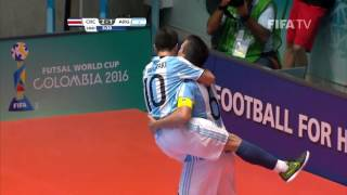 Match 33: Costa Rica v Argentina - FIFA Futsal World Cup 2016